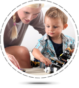 Property Management - Baby Sitting Services, Baby sitter playing with child